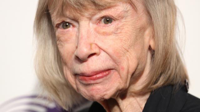 80-jarige schrijfster Joan Didion is nieuw gezicht Céline