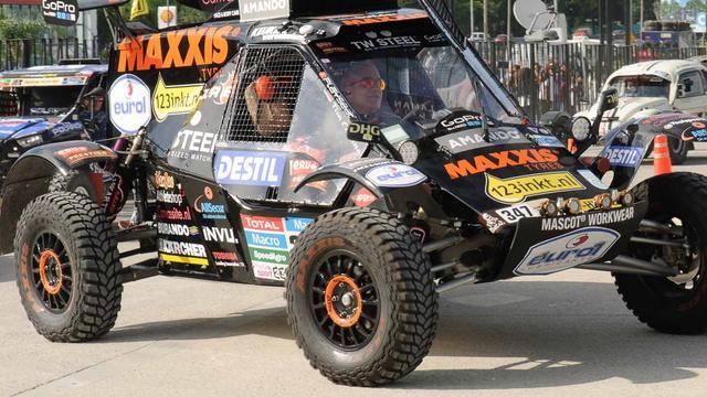 Tim Coronel staakt strijd in Dakar Rally