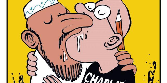 Vijfhonderd exemplaren Charlie Hebdo voor verkoop naar Nederland