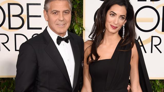 George en Amal Clooney ouders geworden van tweeling