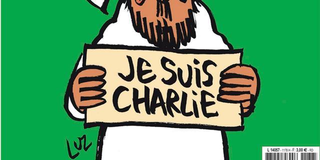 Nieuwe Charlie Hebdo heeft huilende profeet Mohammed op cover