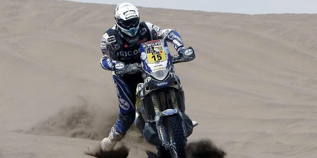 Motorcoureur Verhoeven toch weer van start in Dakar Rally