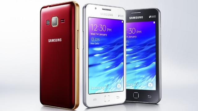 Eerste Tizen-telefoon Samsung Z1 één miljoen keer verkocht