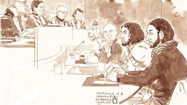 Arnhemse jihadverdachten vrijgesproken