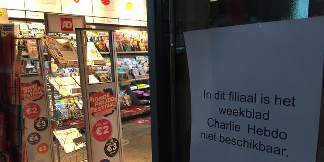 Charlie Hebdo vrijdag wel verkrijgbaar in Nederland