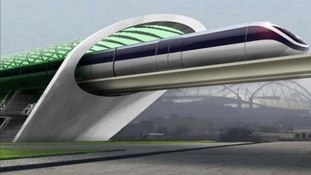 Amerikaanse Hyperloop gaat 300 kilometer per uur tijdens testrit