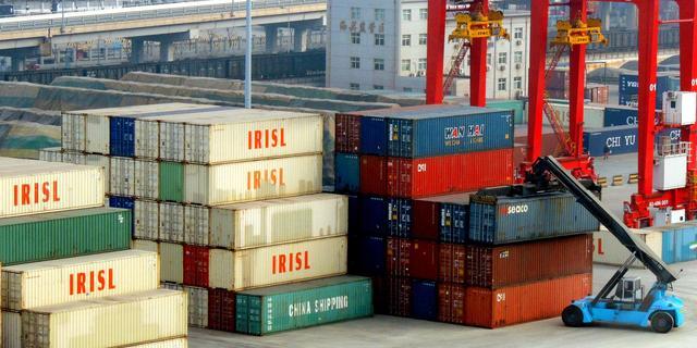 Chinese export onverwacht sterk gedaald