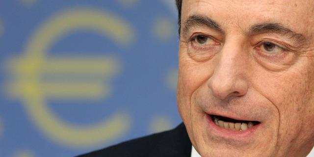Opkoopprogramma ECB verloopt volgens Draghi voorspoedig