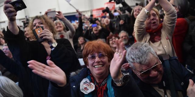 Links-radicale partij Syriza wint verkiezingen in Griekenland