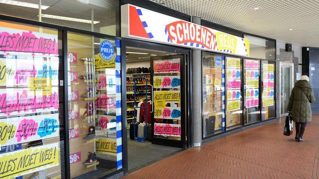 Winkelketen Schoenenreus failliet verklaard