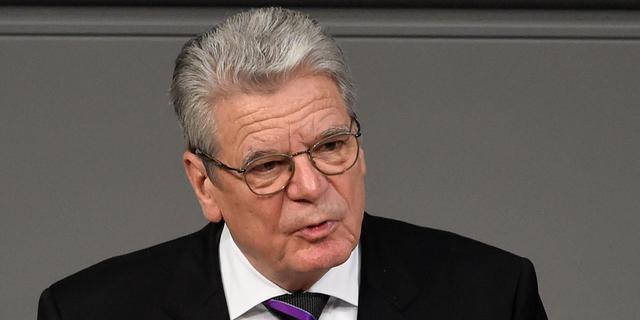 Gauck noemt moord op Armeniërs volkerenmoord