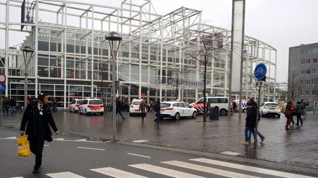 Leiden Centraal ontruimd vanwege verdacht pakketje