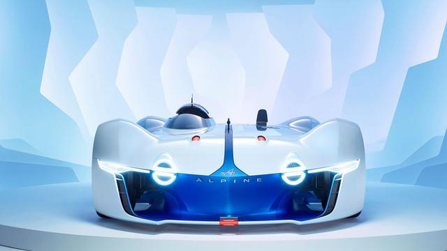 Renault presenteert Alpine Vision GT voor racespel