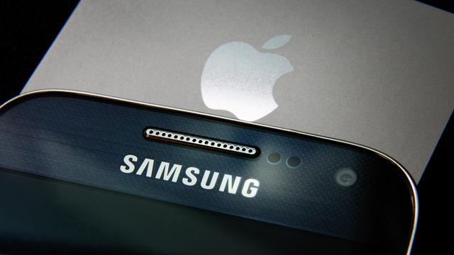 'Apple na drie jaar weer gedeeld eerste op smartphonemarkt'