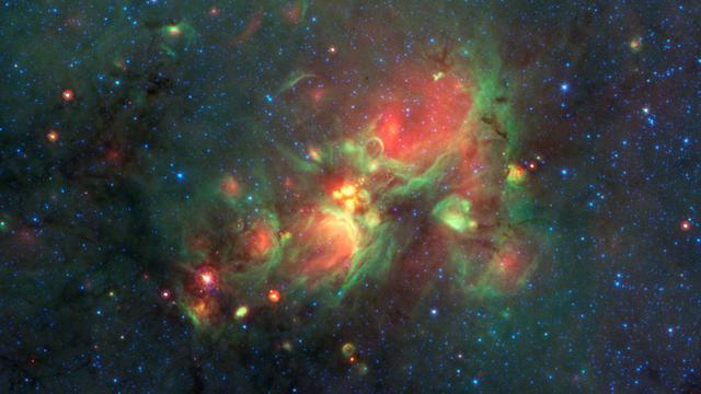 Veel sterren in Melkweg 'verhuizen' na geboorte