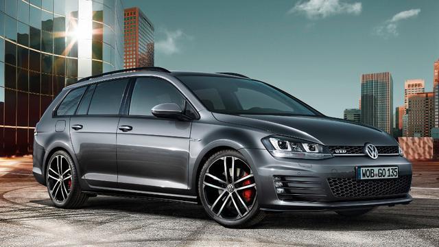 VW Golf presenteert GTD Variant