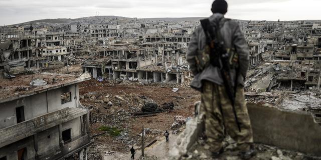 Strijders IS bevestigen vertrek uit Kobani