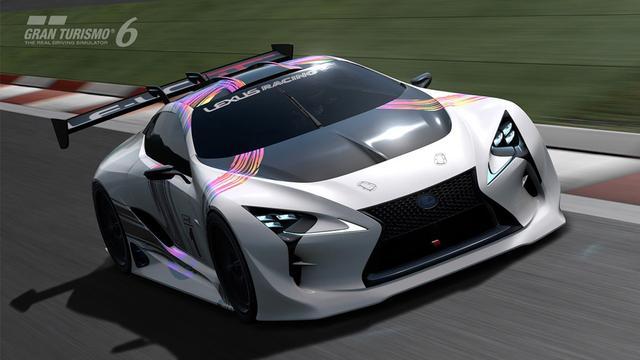 Lexus toont concept-car voor racespel Gran Turismo