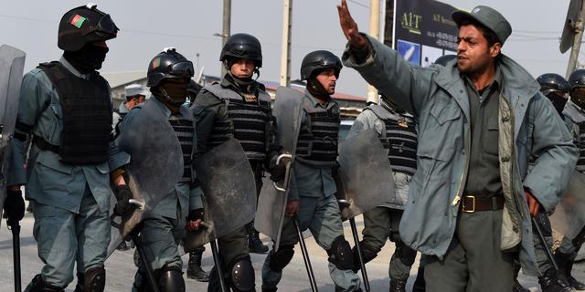 Protest in Kabul tegen Charlie Hebdo ontaardt in geweld