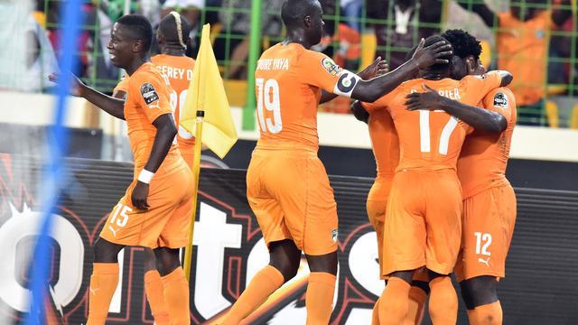 Ivoorkust en Ghana plaatsen zich voor halve finales Afrika Cup