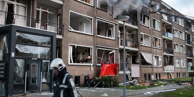 Bewoners vanaf volgende week terug naar flat Rotterdam na explosie