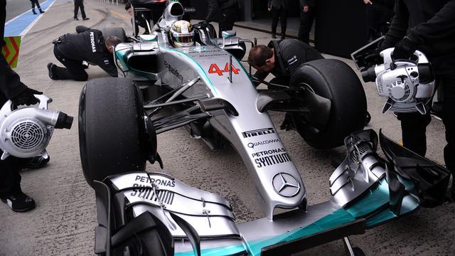 Mercedes probeerde Duitse Grand Prix te redden