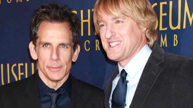 Ben Stiller en Owen Wilson verrast door succes Night at the Museum