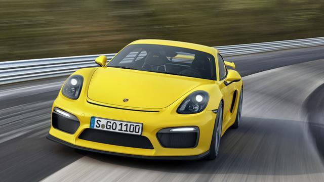 Porsche Cayman GT4 is snelste versie ooit