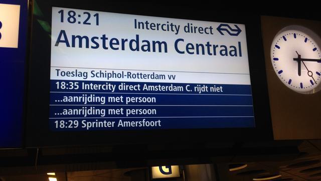 Enkele uren geen treinen tussen Leiden Centraal en Hoofddorp
