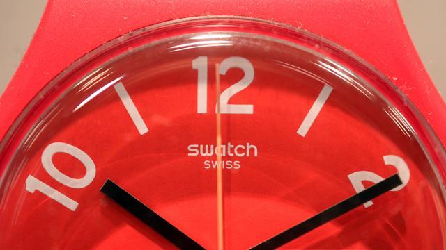 Swatch groeit ondanks dure frank
