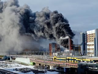 Brand is inmiddels onder controle