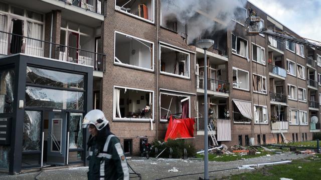 Meeste flatbewoners Rotterdam na brand terug