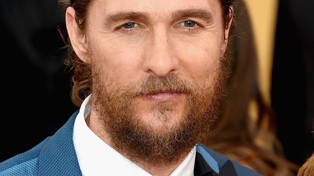 Matthew McConaughey heeft geen behoefte aan vrije dagen