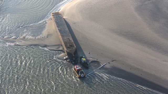 Vermiste schipper van op Westerschelde gekapseisd schip niet gevonden