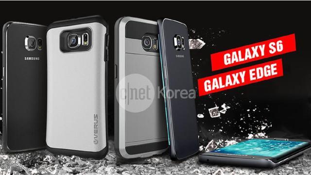 'Afbeelding toont ontwerp van Galaxy S6'