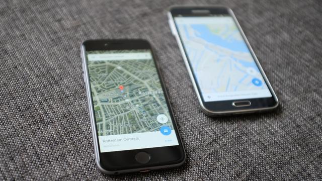 Google test aanbevelen van populaire gerechten in Google Maps