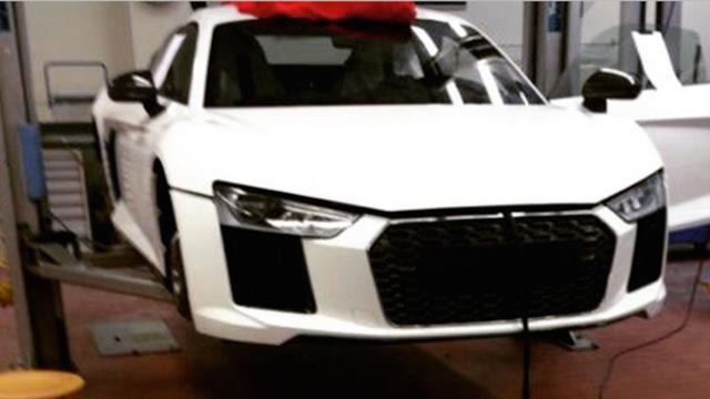 Eerste foto Audi R8 gelekt