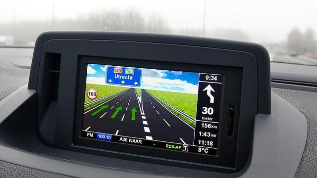 Navigatiesysteem in auto laat deel van hersenen sluimeren
