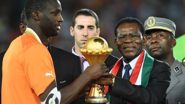 Yaya Touré dankt bondscoach na eindzege Afrika Cup