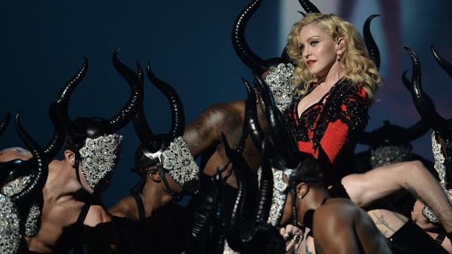 Madonna noemt val bij Brit Awards 'een horrorshow'