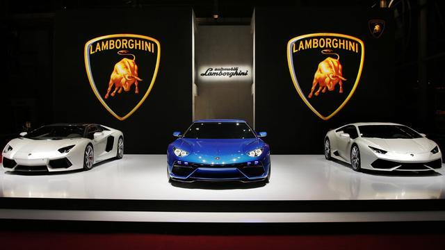 'Lamborghini Asterion komt voorlopig niet'