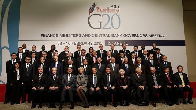 G20-landen blijven somber over de internationale economie