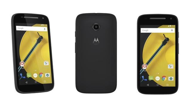 Opvolger goedkope Moto E ondersteunt 4G en heeft groter scherm