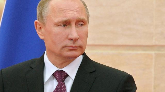 Poetin noemt oorlog met Oekraïne onwaarschijnlijk