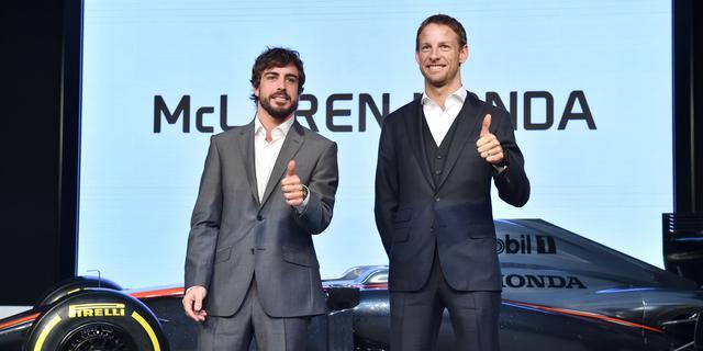 Button en Alonso rekenen op spectaculaire verbetering bij McLaren