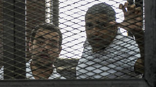 Egypte stelt nieuw proces al-Jazeera-journalisten uit
