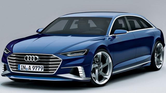 Audi Prologue Avant Genève
