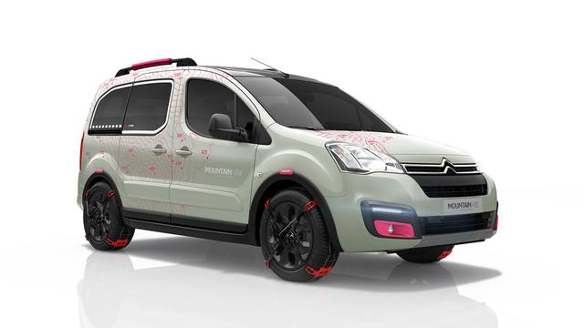 Citroën presenteert Berlingo Mountain Vibe