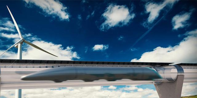 Snelle Hyperloop gebruikt nieuwe techniek van magneetzweeftrein
