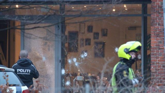 Een dode bij schietpartij tijdens debat over godslastering Kopenhagen